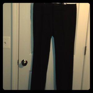Black long dress pants